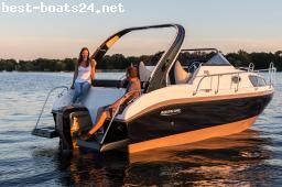 MOTORBOOTE: AQUALINE 750 CRUISER MODELL 2016