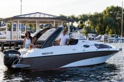 MOTOR BOATS: AQUALINE 690 ADVENTSHAUSMESSE 6.-8.12.19
