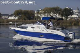 MOTOR BOATS: AQUALINE 750 ADVENTSHAUSMESSE 6.-8.12.19