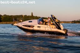 MOTOR BOATS: AQUALINE 750 INTERBOOT 2019