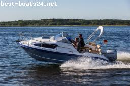 MOTOR BOATS: AQUALINE 550 CRUISER