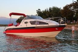 MOTOR BOATS: AQUALINE 550 ADVENTSHAUSMESSE 6.-8.12.19