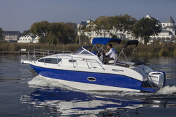 MOTOR BOATS: AQUALINE 750CSOMMERAKTION !!!