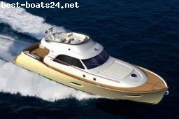 MOTOR BOATS: MOCHI CRAFT DOLPHIN 54 SUN TOP