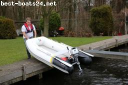 INFLATABLES: ZAR FORMENTI AIR 8 FALTBARE BOOTE MIT LUFTBOD