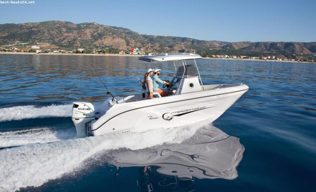 RANIERI INTERCEPTOR 222 SPORT FISHING