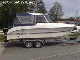 MOTOR BOATS: AQUALINE PILOT 15 PS TEXAS 595 PILOT