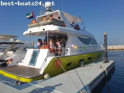 MOTORBOOTE: UNBEKANNT 70' CUSTOM TOURING MARINE CRAFT