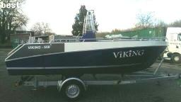 BARCO A MOTOR: VIKING 550 ALUBOOT