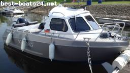 BARCO A MOTOR: VIKING 550 HT ALUBOOT
