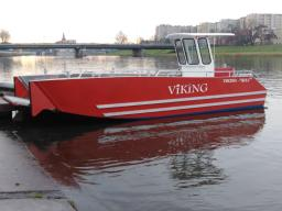 BARCO A MOTOR: VIKING 750 LC ALUBOOT