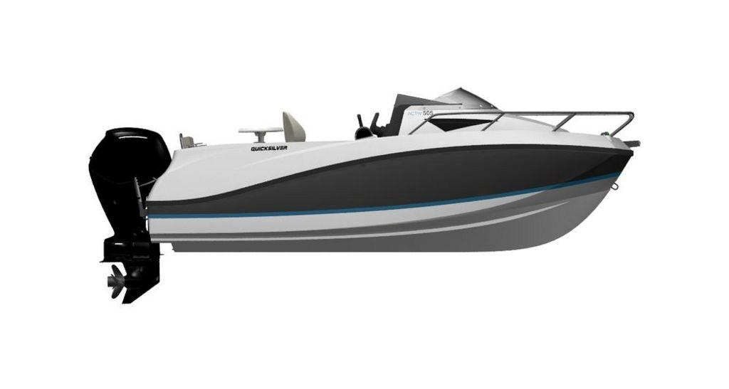 QUICKSILVER ACTIV 505 CABIN MERCURY F60 CT