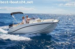 MOTOR BOATS: QUICKSILVER ACTIV 505 OPEN F100 CT MERCURY