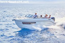MOTOR BOATS: QUICKSILVER ACTIV 755 CRUISER F225 V6 MERCUR