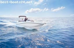 MOTOR BOATS: QUICKSILVER ACTIV 675 OPEN F225 V6 MERCURY