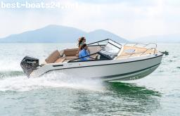 MOTOR BOATS: QUICKSILVER ACTIV 675 CRUISER F150 MERCURY