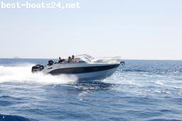 MOTOR BOATS: QUICKSILVER ACTIV 805 CRUISER F200 V6 MERCUR