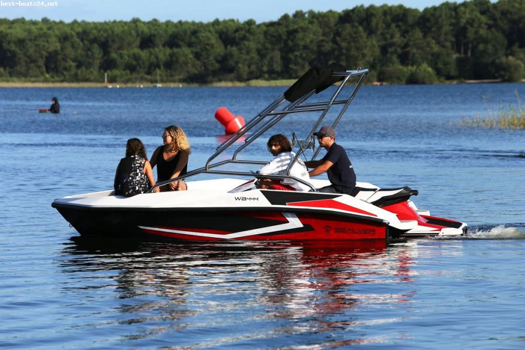 SEALVER WAVE BOAT 444 BLACK WAKE