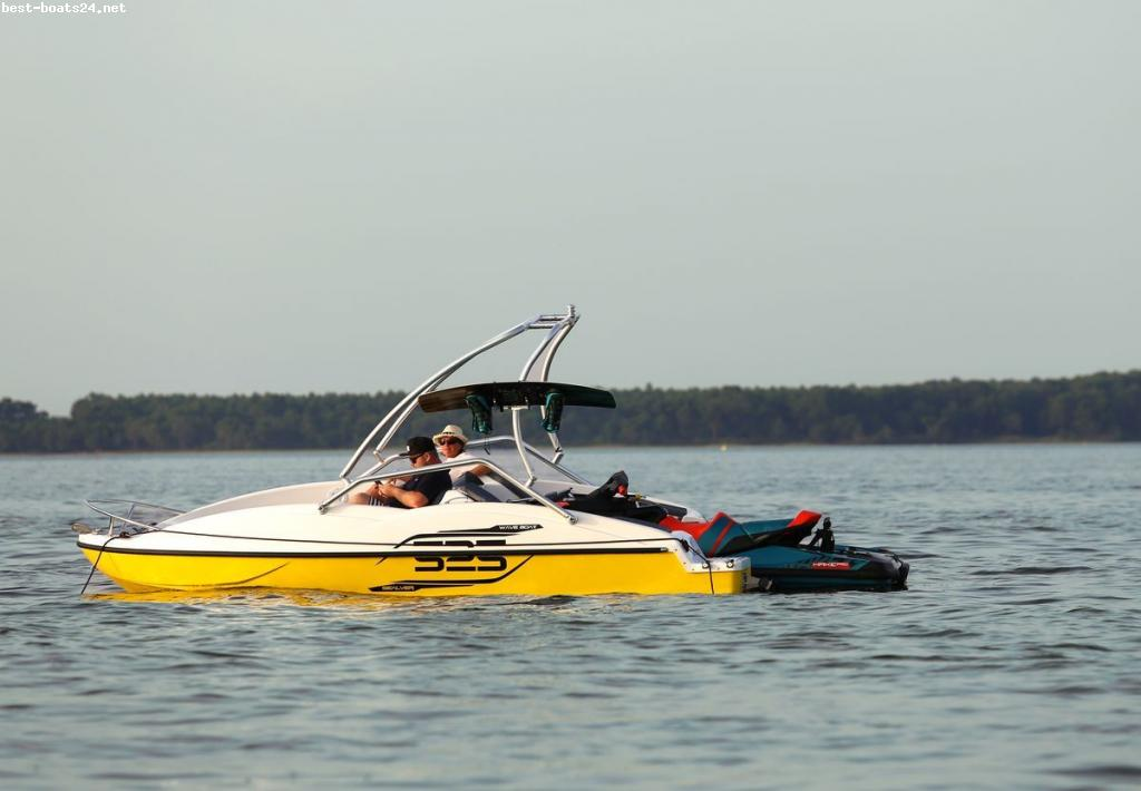 SEALVER WAVE BOAT 525 WAKE