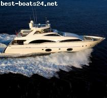 MOTOR BOATS: CRN CUSTOM LINE 97 FLY