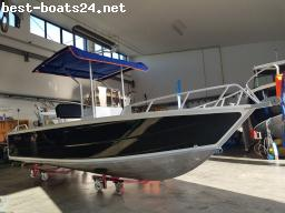 MOTOR BOATS: AVE ALPHA 580 CC