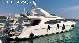 MOTORBOOTE: AZIMUT 68 EVO FLY - BJ. 2008 - 4 KAB.