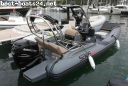 MOTORBOOTE: SACS STRIDER 700 - DEMO BOOT - 2018