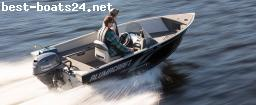 MOTOR BOATS: ALUMACRAFT ESCAPE 145 CS + MOTOR + TRAILER