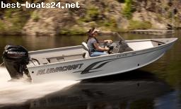 MOTOR BOATS: ALUMACRAFT ESCAPE 165 CS + MOTOR + TRAILER