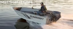 MOTOR BOATS: ALUMACRAFT ESCAPE 145 TILLER +MOTOR+TRAILER