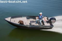 BARCO A MOTOR: CRESTLINER DISCOVERY 1450 + MOTOR + TRAILER