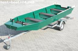ROWING BOATS: LINDER FISHERMAN 480 A, ZERLEGBAR