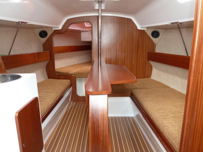 perfekt jacht weyer 750 segelboote kaufen. Black Bedroom Furniture Sets. Home Design Ideas