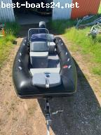 INFLATABLES: GRAND SILVER LINE 470 NL �BLACK�